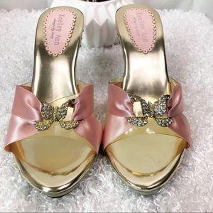 Keeley Ann Shoe, Pink, bedroom slippers